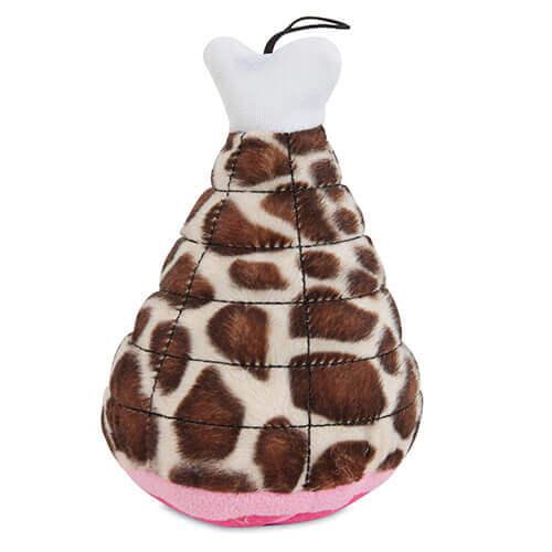 Fat Cat Zoobilee Mighty  Meaties Giraffe Small Size