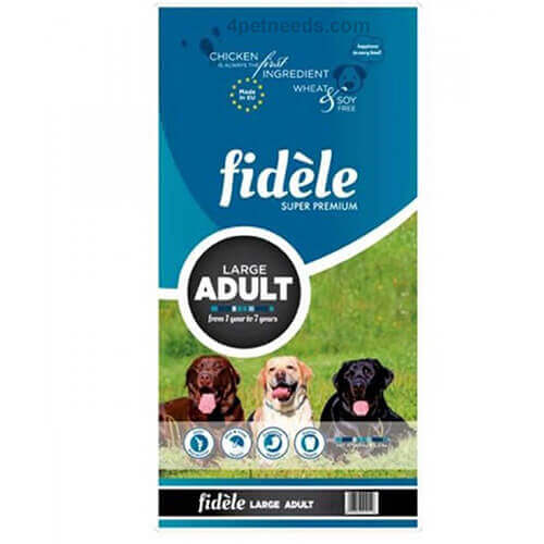Fidele Adult Large Breed Dog Food - 4 Kgs