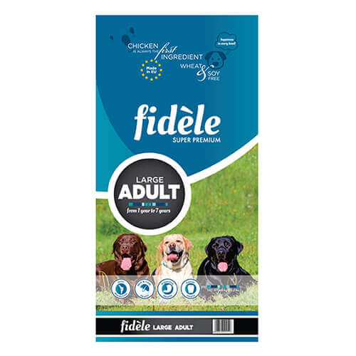 Fidele Large Adult Dog Food, 4Kg