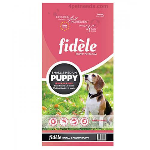 Fidele Puppy Small & Medium Breed Dog Food 4 Kg