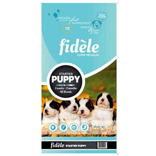 Fidele Puppy Starter Dog Food 4 Kg