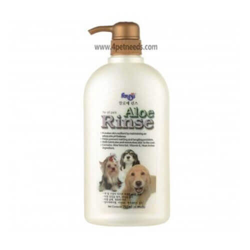 Forbis Aloe Rinse Dog Shampoo, 750 ml