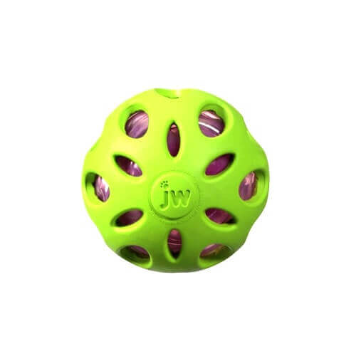 JW Crackle Ball Medium Green