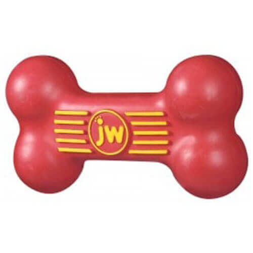JW Isqueak Bone (Red)