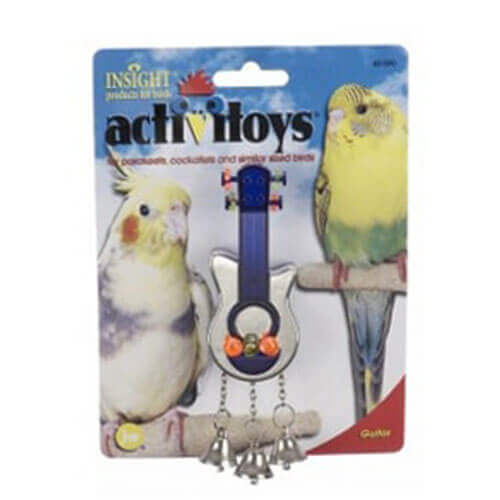 JW PET COMPANY Activitoy Bird Toy Guitar