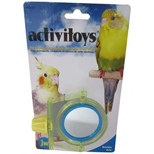 JW Pet Company Activitoy Double Axis Small Bird Toy, Colors Vary