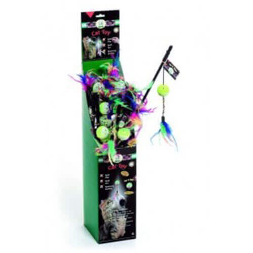 Karlie Cat Dangler With Luminious Ball for Cats