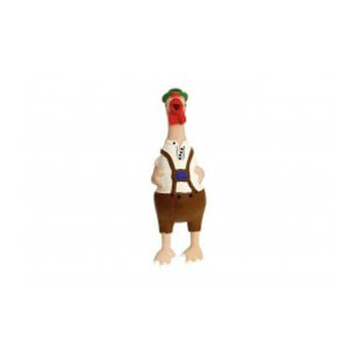 Karlie Crazy Chicken Latex- IV Bavarian,Dog Toy 24.5 cm