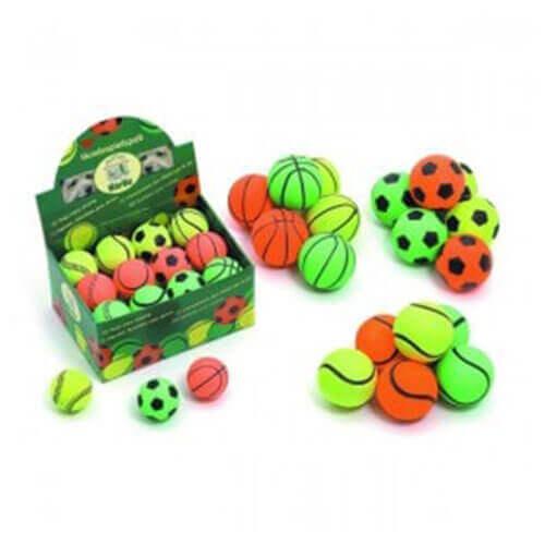 Karlie Neon Balls Assorted x 6cm