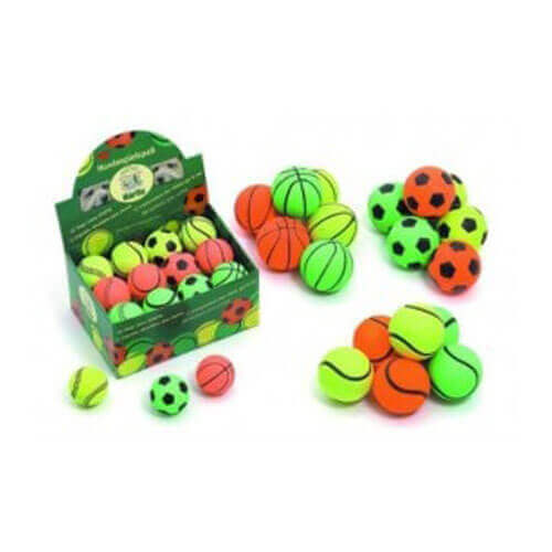 Karlie Neon Dog Balls, 9 cm (Assorted)