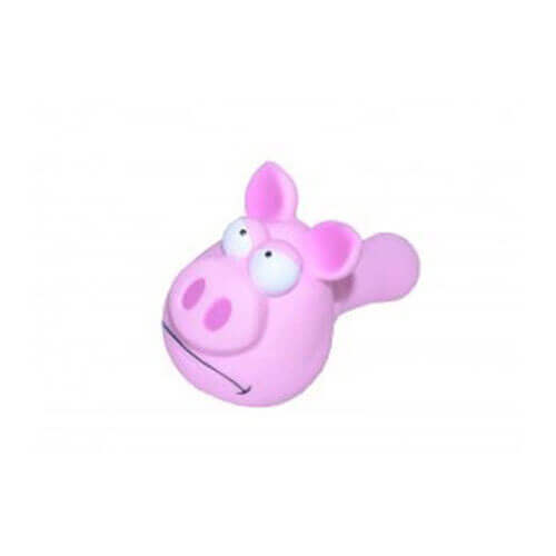 Karlie Vinyl Pig Dog Toy, 8-inch