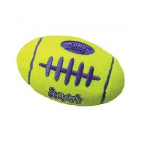 Kong Air Squeaker Football Medium