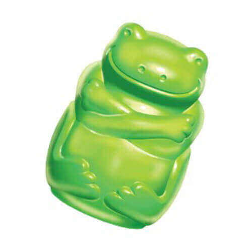Kong Medium Squeezz Jels Frog Dog Toy