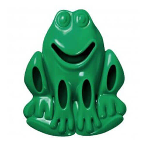 Kong Quest Critter Frog Dog Toy - Assorted, Large