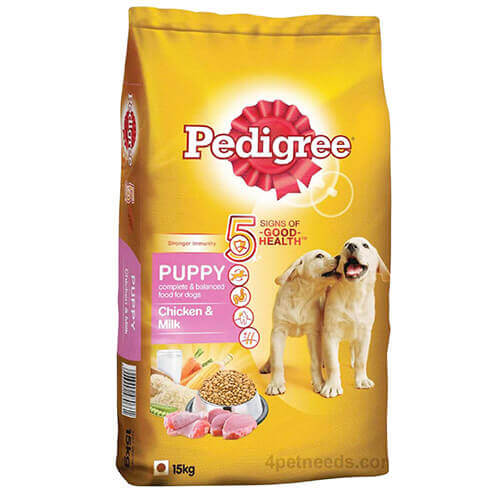 Pedigree Puppy Chicken & Milk , 15Kg