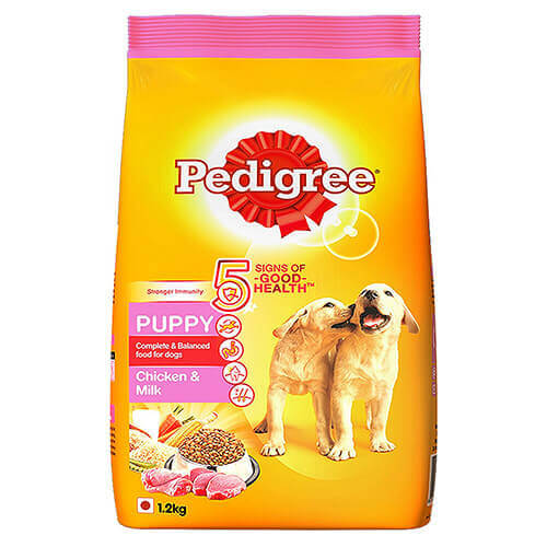 Pedigree Chicken and Milk For Puppies, 1.2Kg
