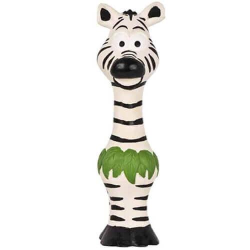 Pet Brands Go Wild Zebra Latex Dog Toy (24 cm)
