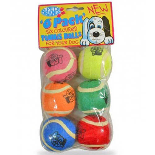 Pet Brands Tennis Balls (6 Pack)