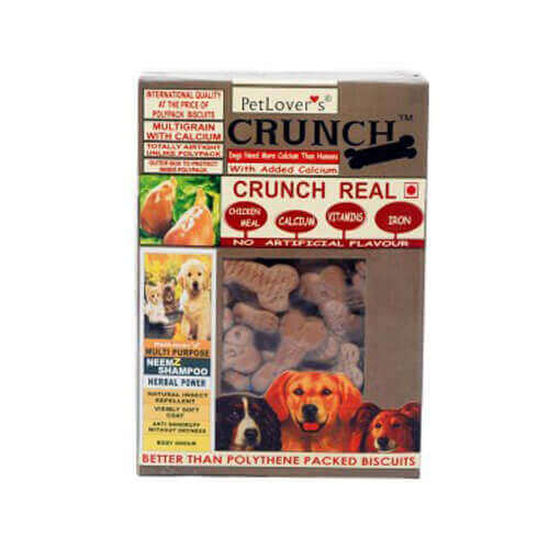 Pet Lover Real Crunch Chicken Biscuits