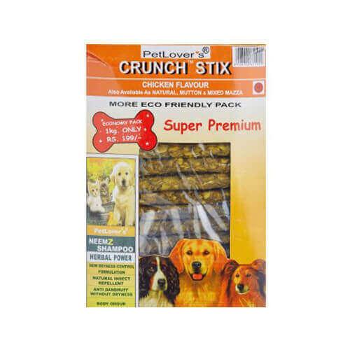 Pet Lovers Crunchstix Chicken, 900g
