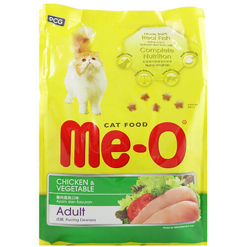 ME-O CHICKEN & VEGETABLE CAT FOOD ADULT 1.2KG
