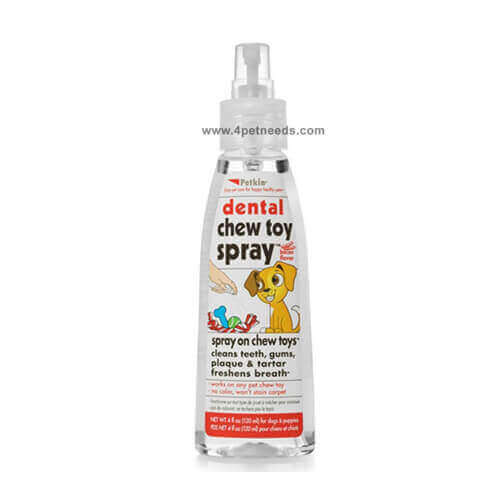 Petkin Dental Chew Toy Spray (4oz)