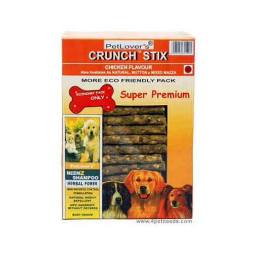 Petlover's Crunch Stix 900 Gm