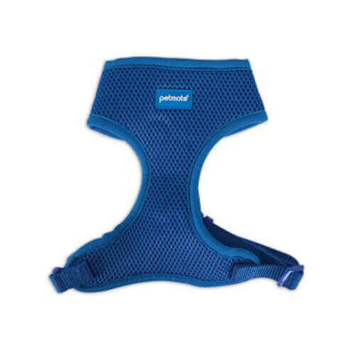 Petmate Adjustable Standard Core Mesh Harness 15inch (Royal Blue) Small