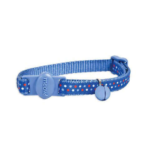 Petmate Cat Bndna Dots Collar, 3/8