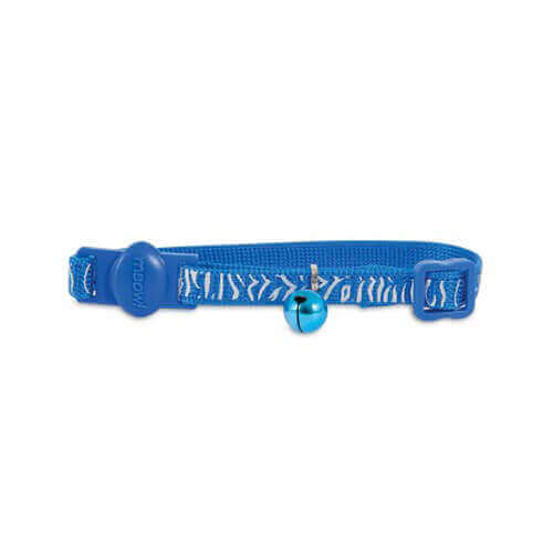 Petmate Cat Reflective Tiger Collar, 8-12