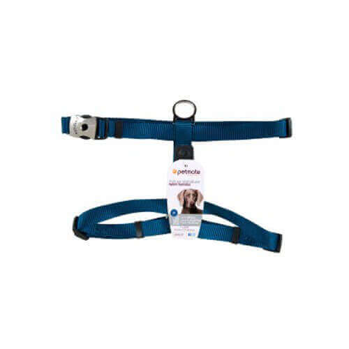 Petmate Deluxe Signature Adjustable Harness Large (Blue)