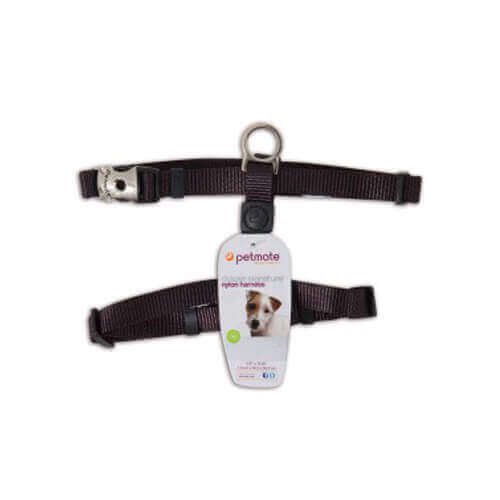 Petmate Deluxe Signature Adjustable Harness Small (Black)