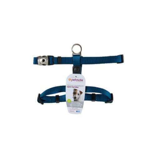 Petmate Deluxe Signature Adjustable Harness Small (blue)