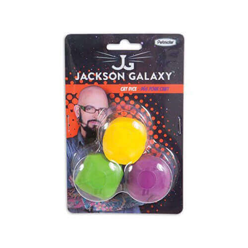Jackson Galaxy Cat Dice, 3-Pack