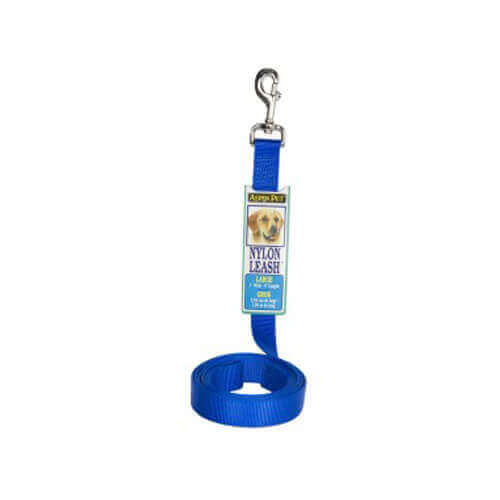 Petmate Nylon Standard Core Leash 6ft x Large Blue