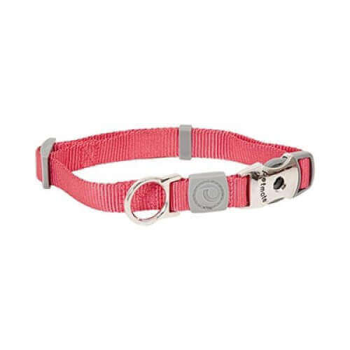 Petmate Signature Deluxe Collar Pink 3/4x14-20