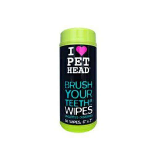 Pet Head Teeth Wipes For Dogs