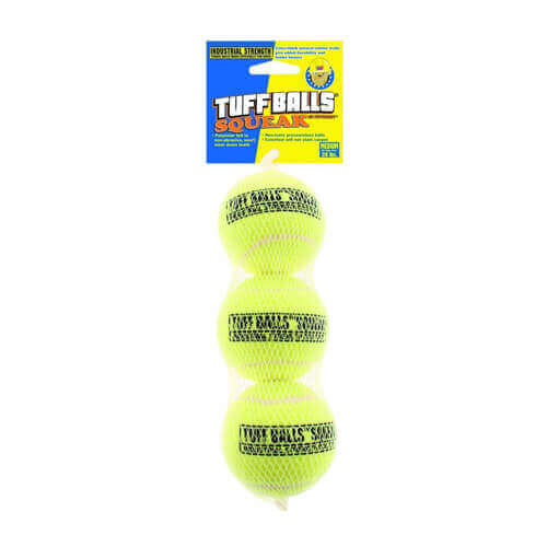 Petsport Tuff Ball Squeak 3pk