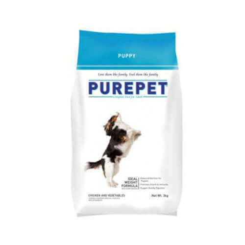 Purepet Puppy Chicken And Vegetables 3 Kg