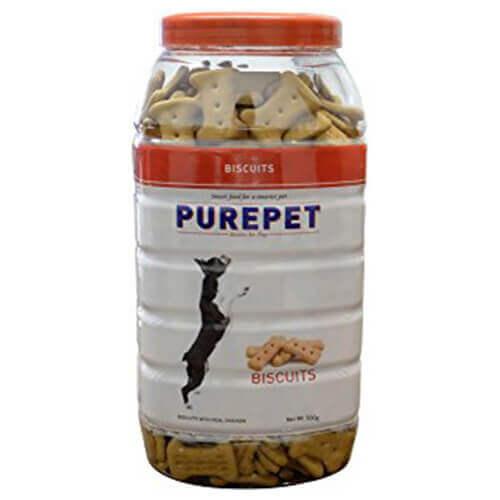 Purepet Biscuits With Chicken Flavor