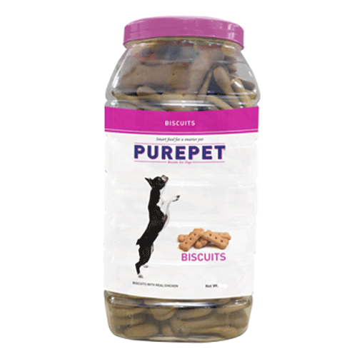 Purepet Biscuits With Real Chicken & Mutton Flavor