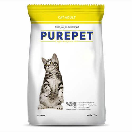 Purepet Sea Food Cat Adult 1.2Kg
