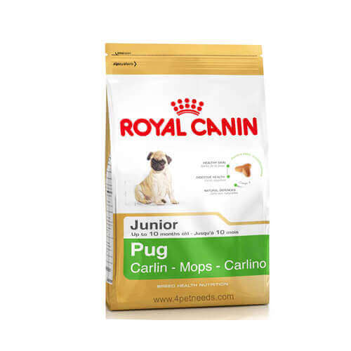 Royal Canin Pug Junior Complete Dog Food, 1.5kg
