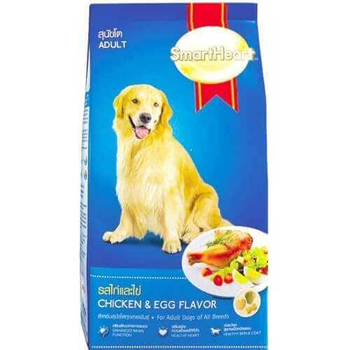 SMARTHEART CHICKEN & EGG ADULT 3 KG DOG FOOD