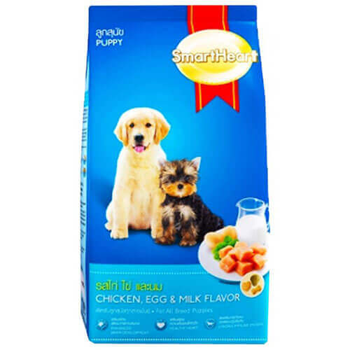 SMARTHEART CHICKEN,EGG & MILK PUPPY 8KG