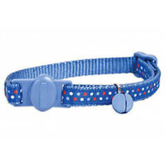 ASPEN PET FASHION CAT COLLAR FERN BLUE