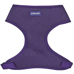 PETMATE STANDARD MESH DOG HARNESS LARGE PURPLE