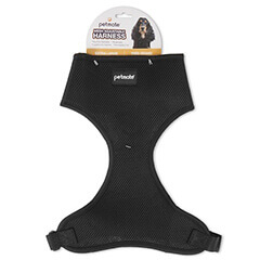 Petmate Mesh Adjustable HARNESS X-Large Black
