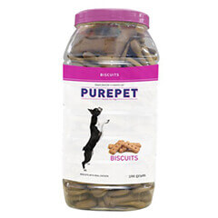 PurePet Biscuits Mutton Flavor 500gms