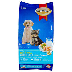 SMARTHEART CHICKEN EGG & MILK PUPPY 3 KG DOG FOOD